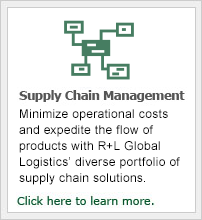 R+L Global Logistics has a team of dedicated supply chain consultants to help with all your Supply Chain Management needs